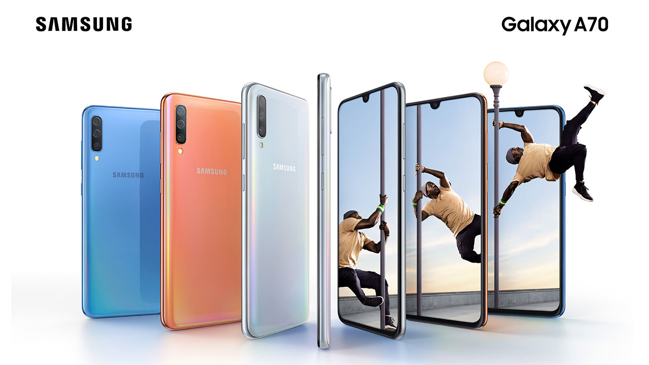 Take note! Samsung Galaxy A70 for sale starting April 26 2019