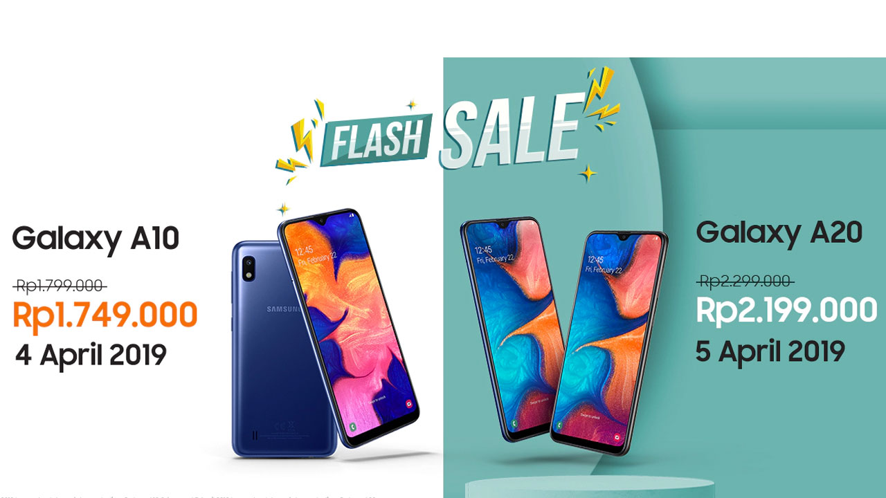 Samsung Galaxy A10 and A20 have been sold, this is the official price
