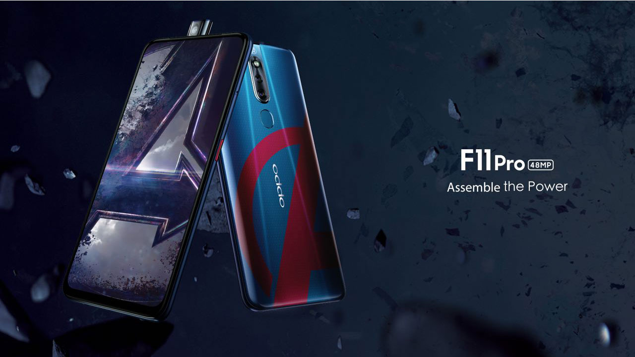 Cool! OPPO Release F11 Pro Edition of Avengers