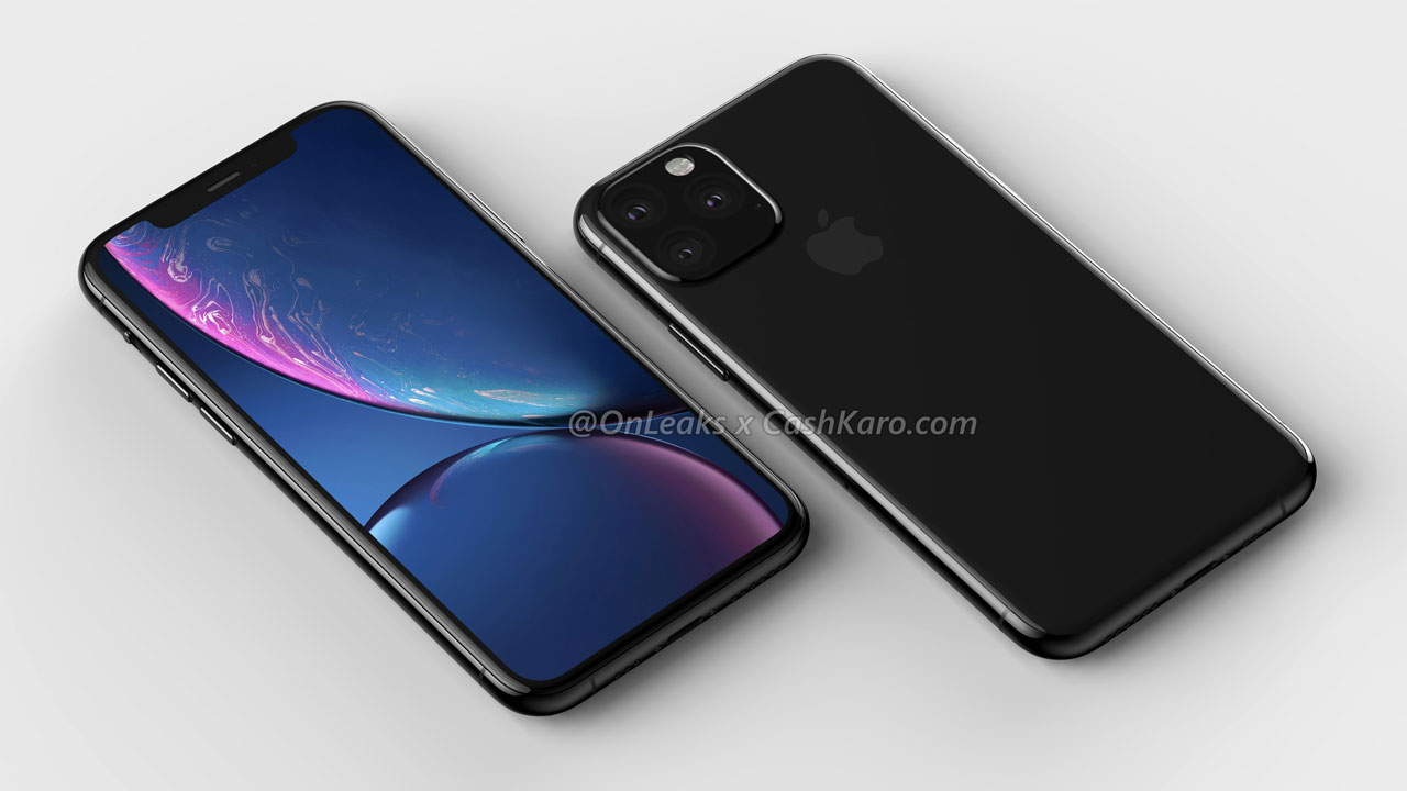 Render of Final iPhone XI Show Clear Camera Design