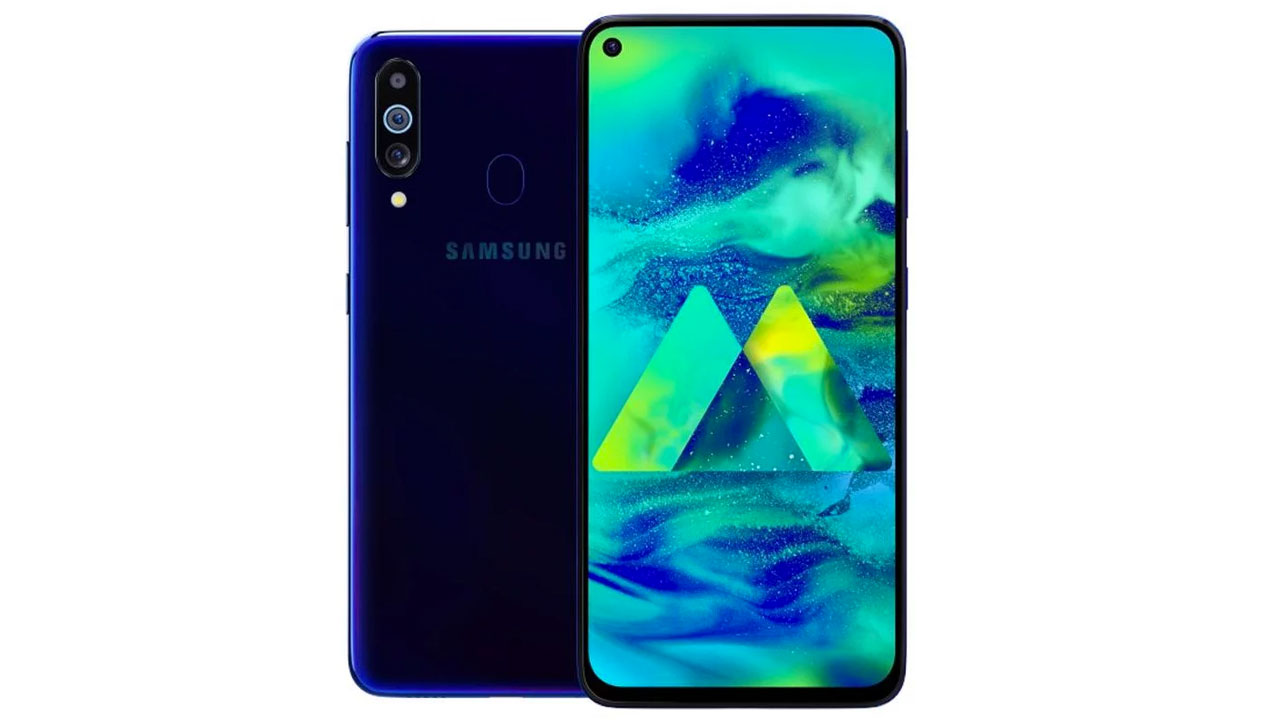 Render the Samsung Galaxy M40 with Triple Camera Leaking on the Internet