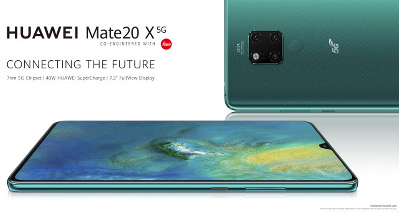 Huawei Mate 20 X 5G is starting to be sold, what is the price?