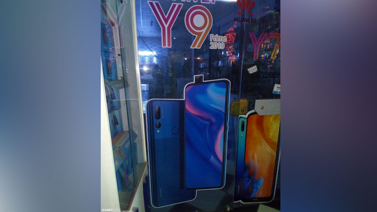 Huawei Y9 Prime 2019 with attractive camera setup