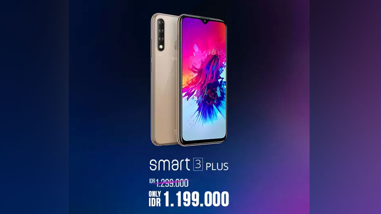 Released in Indonesia, this is the Attraction of Infinix Smart 3 Plus and HOT 7 Pro