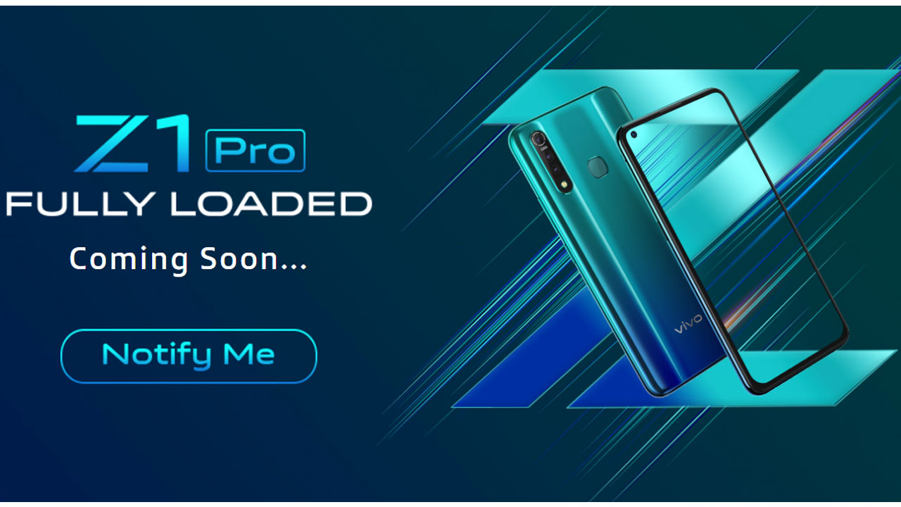 Vivo Z1 Pro Key Specifications Have Been Revealed