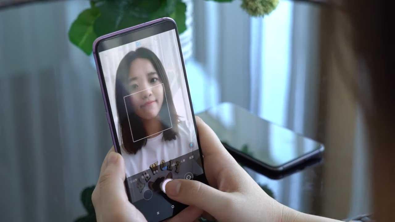 This is how the Selfie Camera Xiaomi Underdisplay Works works