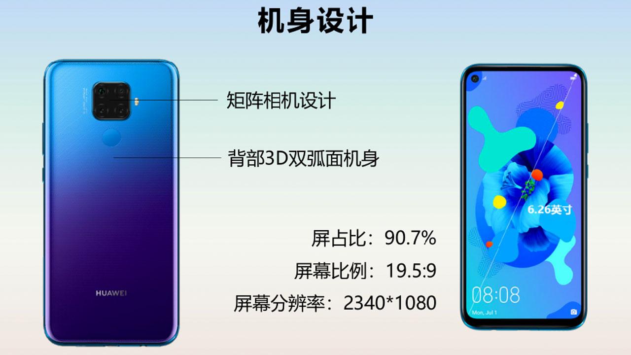 Huawei Nova 5i Pro Specifications Revealed