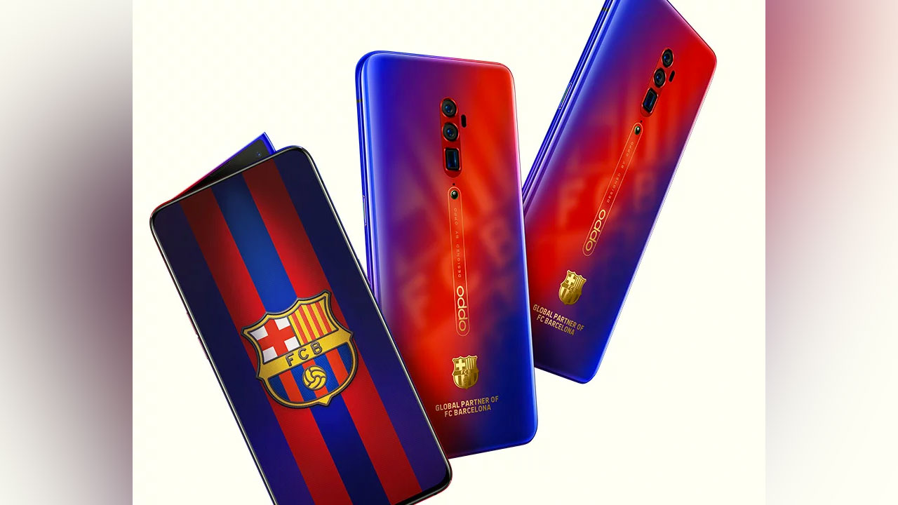 OPPO Announces Reno 10X Zoom Edition of FC Barcelona