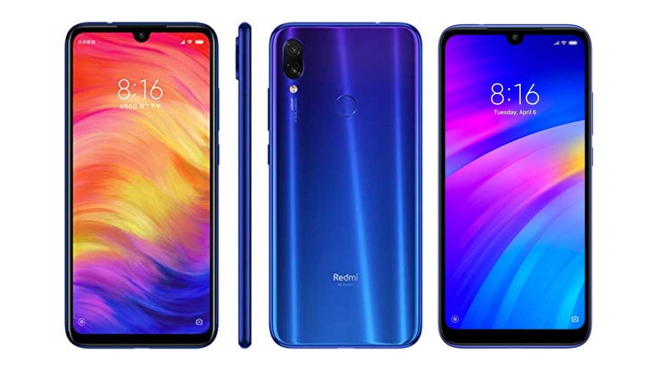 This infographic reveals the interesting facts of the Redmi Note 7 and Redmi 7