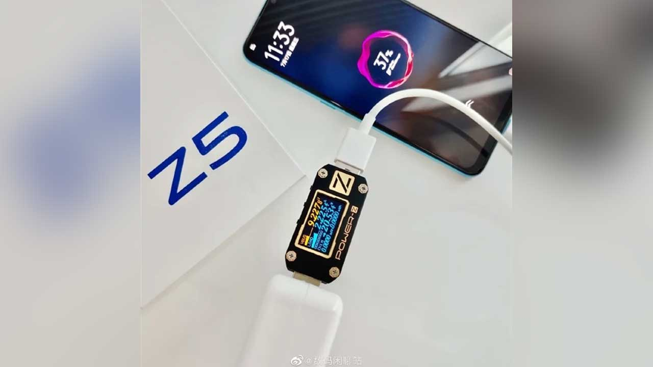 Swinging the End of the Month, Vivo Z5 will be equipped with Fast Charging 22.5W