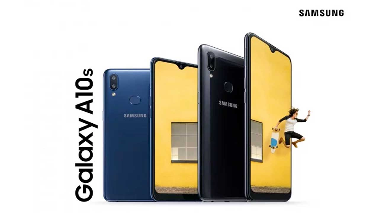 Samsung Releases Galaxy A10s, Has Fingerprint and 4,000 mAh Battery