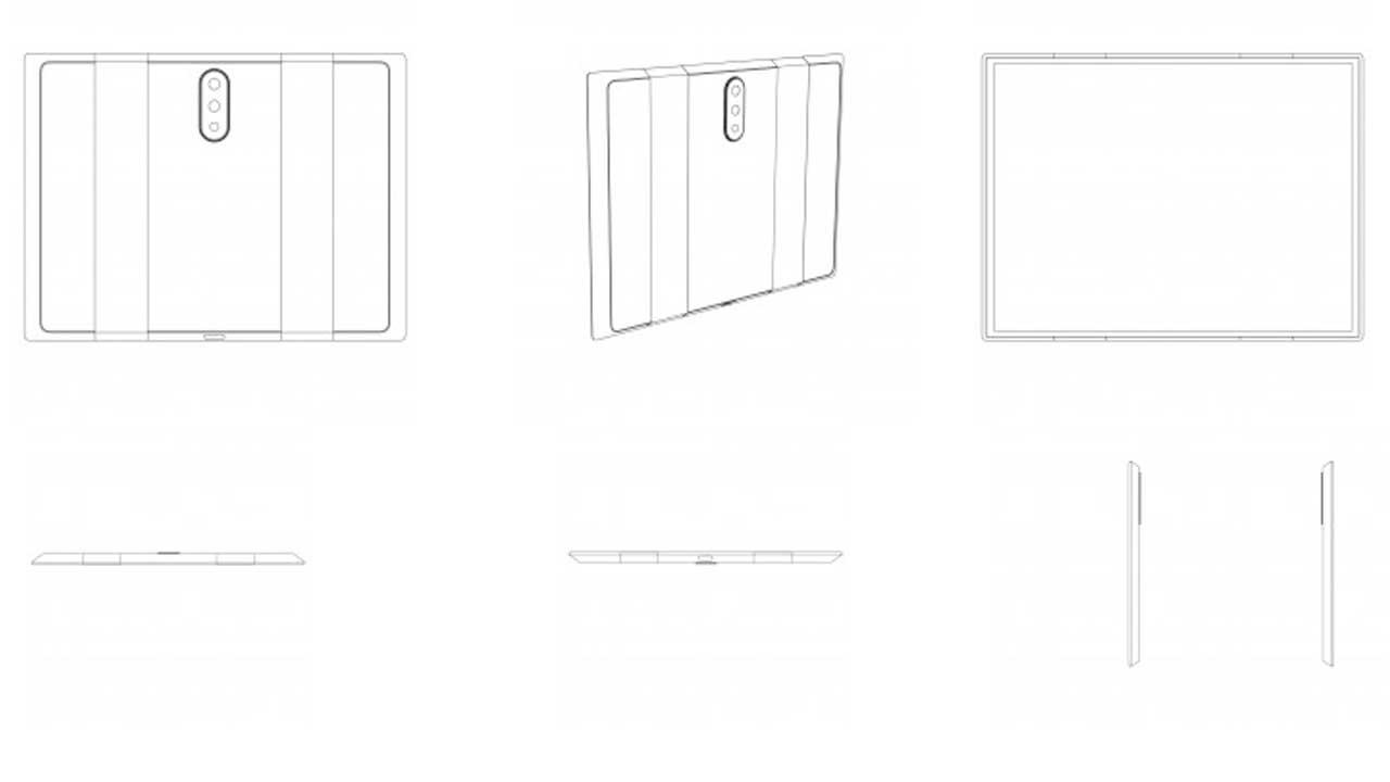 Xiaomi Folding Smartphone Has Three Rear Cameras