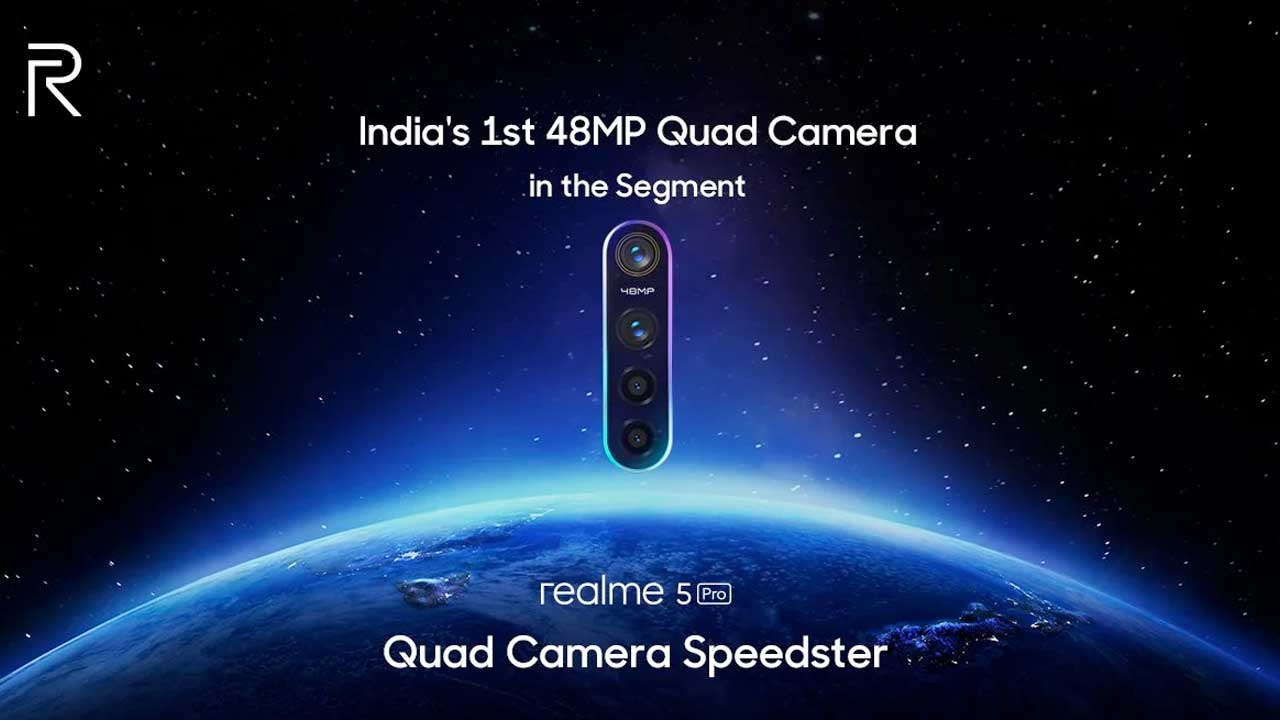 Note it! This is the Realme 5 Pro Launch Date