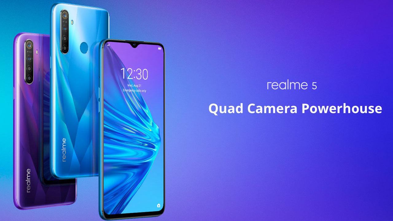 Harga Realme 5 Terbaru 2019 Dan Spesifikasi Lengkap