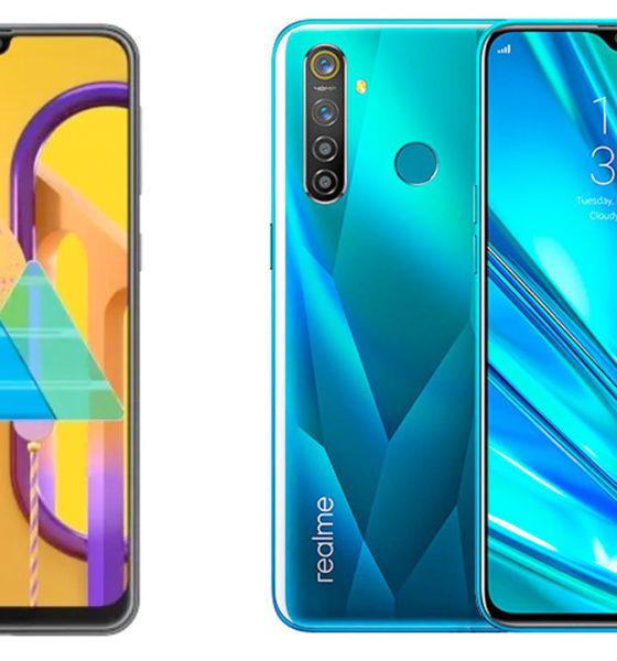 Dijual Seharga Rp3 Jutaan Pilih Samsung M30s Atau Realme 5 Pro