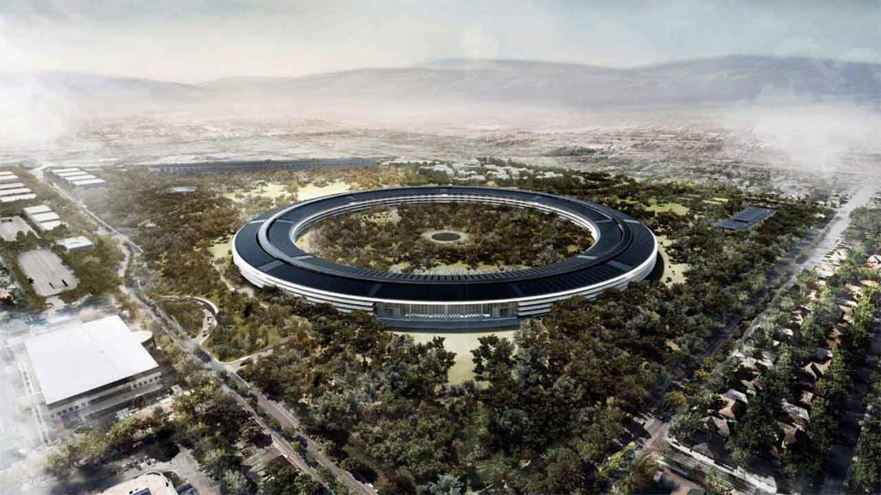 Apple HQ, credit: EPA