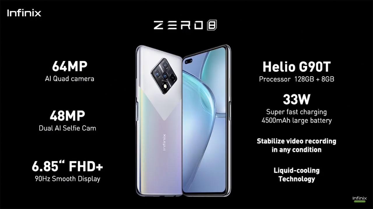 بررسی گوشی هوشمند Infinix Zero 8 در نبض دیجیتال