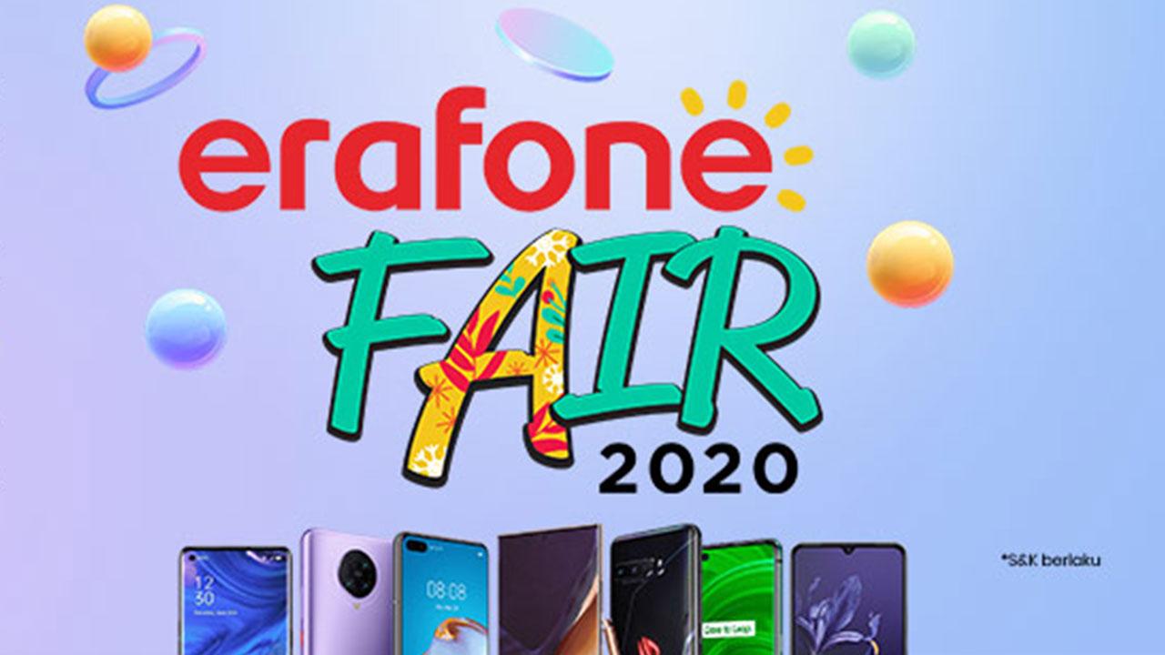 Erajaya Group Kembali Gelar Erafone Fair 2020, Ada Diskon Hingga Rp7 Juta