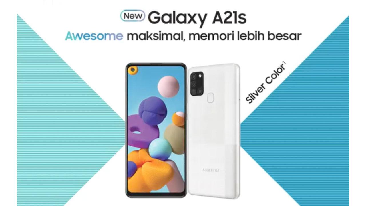 New Galaxy A21s Sangat Cocok untuk Bikin Konten Awesome