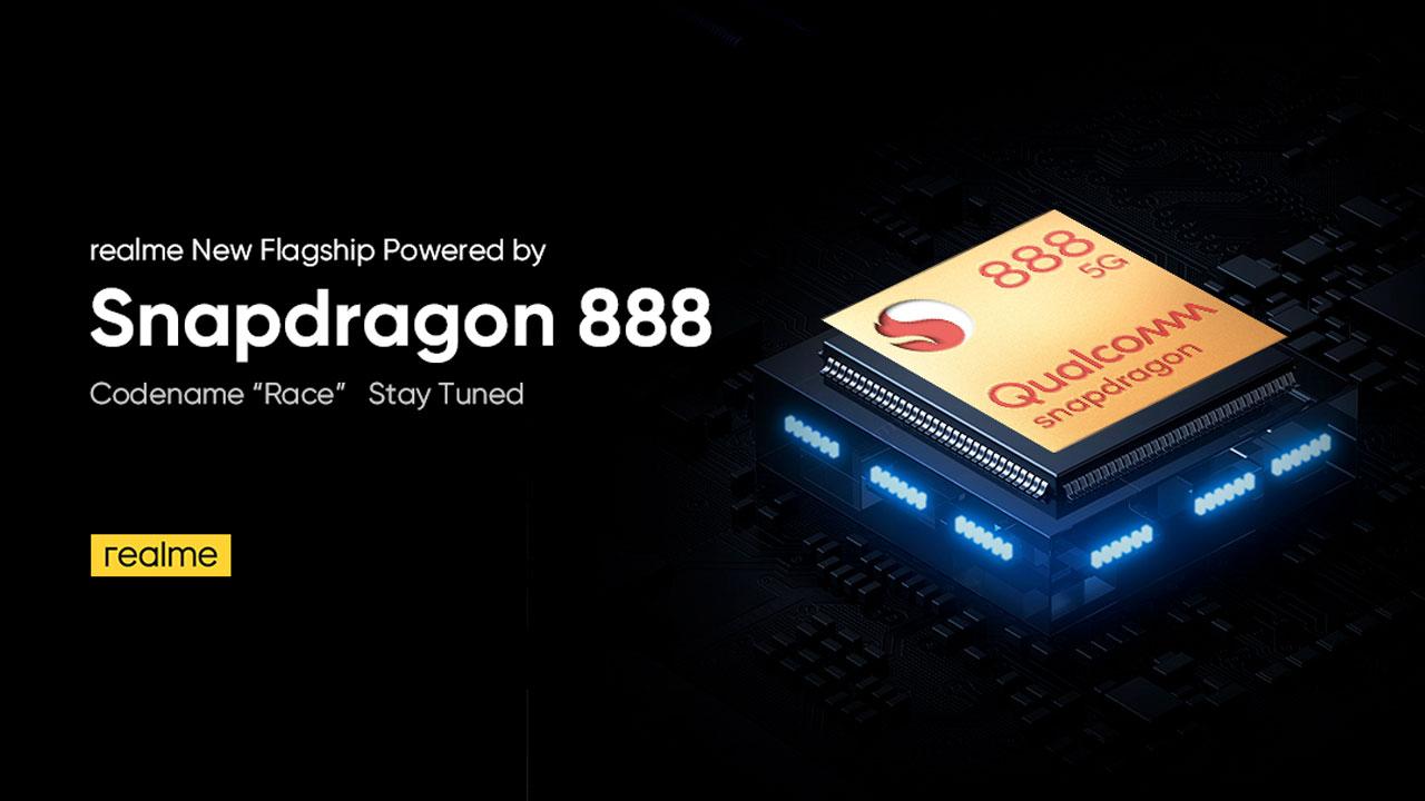 Realme Race Dikonfirmasi akan Diotaki Snapdragon 888